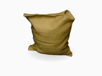 "Burlap and Polypropylene ""Valve"" Sandbags"