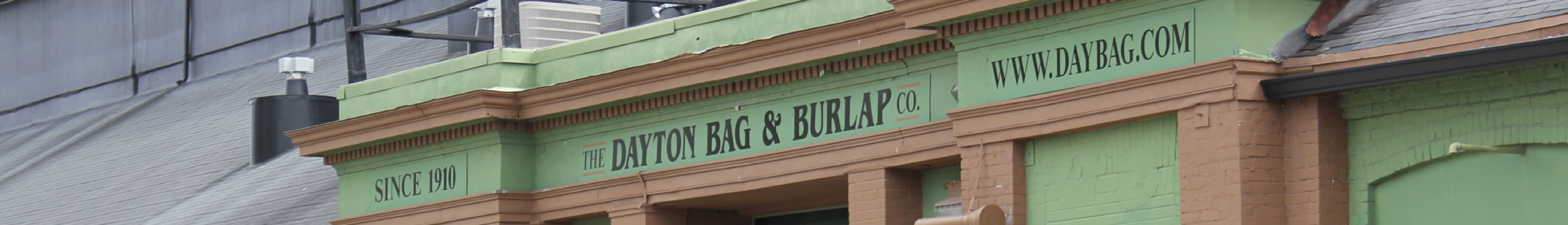 Dayton Bag Burlap Locations Cover