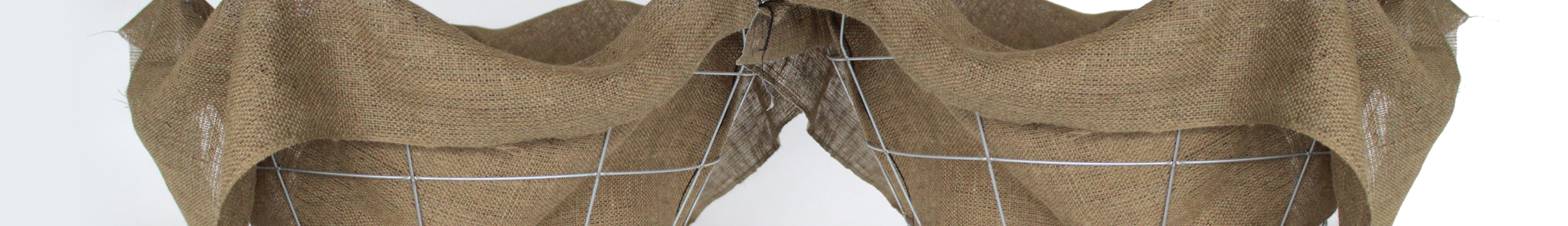 Nursery - Flat Folded Burlap Basket Liners
