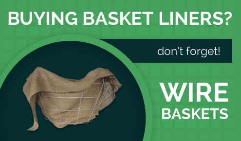 Don't Forget Your Burlap Basket Liners