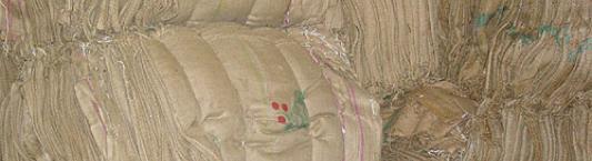 Burlap coffee bags image
