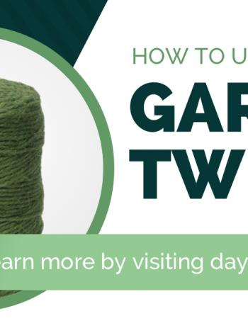 How to Use Garden Twine