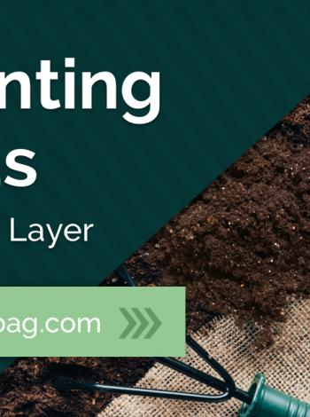 Preventing Weeds Burlap