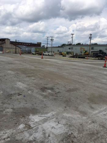 Dayton Bag & Burlap Wire Basket Distribution Center Under Reconstruction