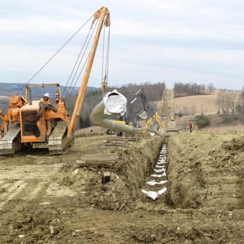 Sandbags for Pipelines
