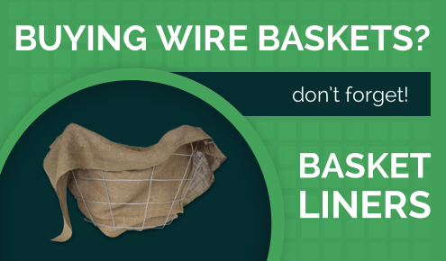 Don't Forget Your Wire Baskets